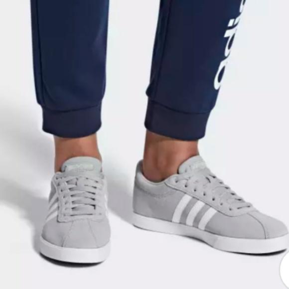 adidas Shoes   Adidas Neo Courtset Gray
